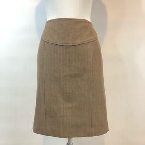 Banana Republic Womens 8 Brown Skirt
